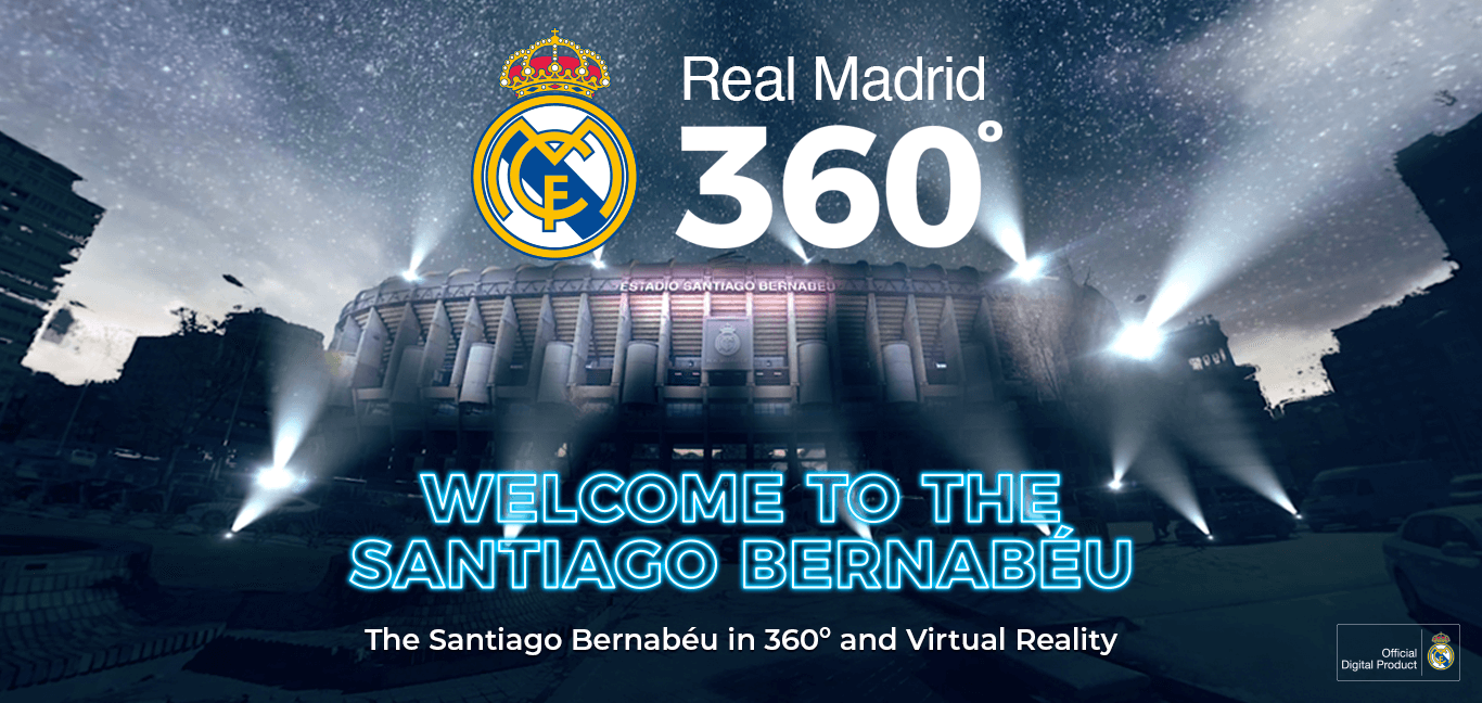 welcome to Santiago Bernabeu